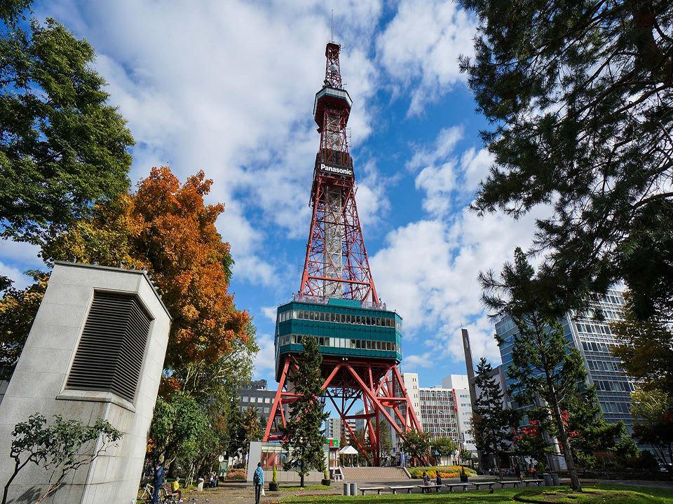 hướng dẫn sử dụng jr pass khu vực hokkaido: tháp truyền hình sapporo