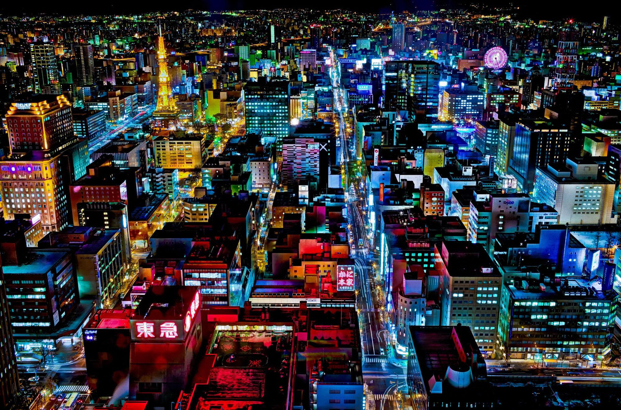 hướng dẫn sử dụng jr pass khu vực hokkaido: hokkaido về đêm