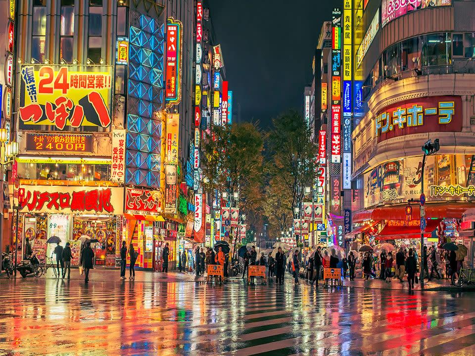 hướng dẫn sử dụng jr pass khu vực hokkaido: đường phố nhật bản về đêm