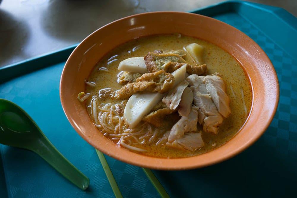 bún cari gà lựa chọn đồ ăn của janice wong