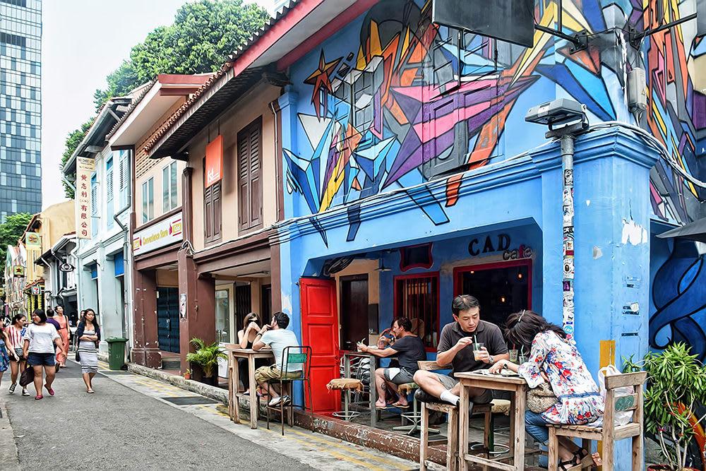 haji lane là lựa chọn để khám phá singapore của Janice Wong