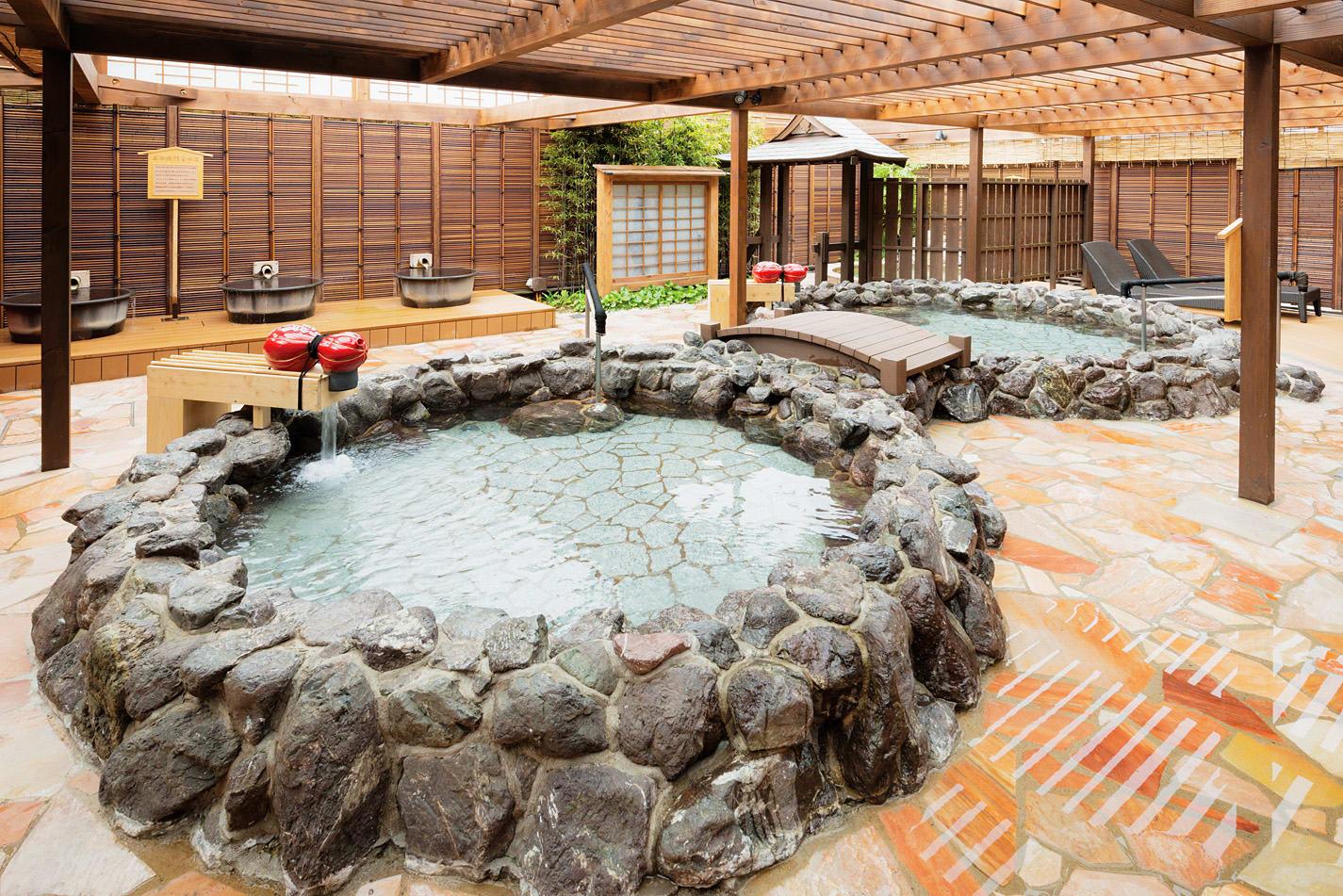 72 giờ ở osaka: tắm onsen