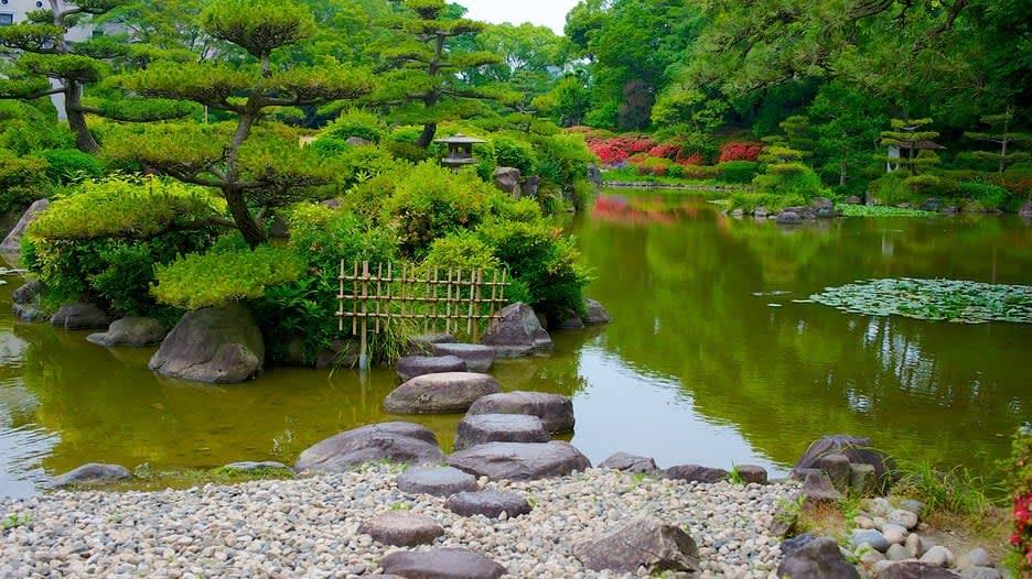 72 giờ ở osaka: ngắm cảnh ở công viên tennoji