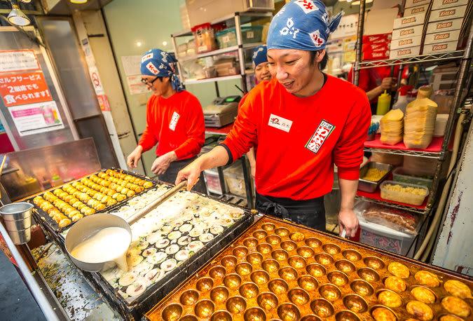 72 giờ ở osaka: takoyaki