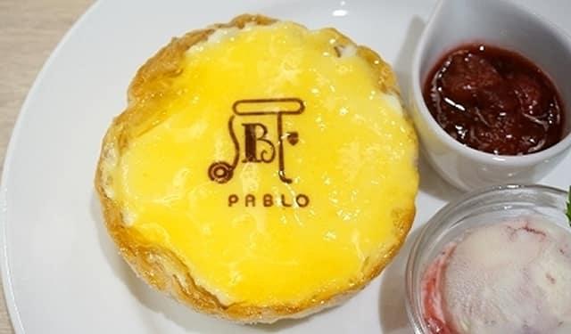 72 giờ ở osaka: bánh tart phô mai pablo