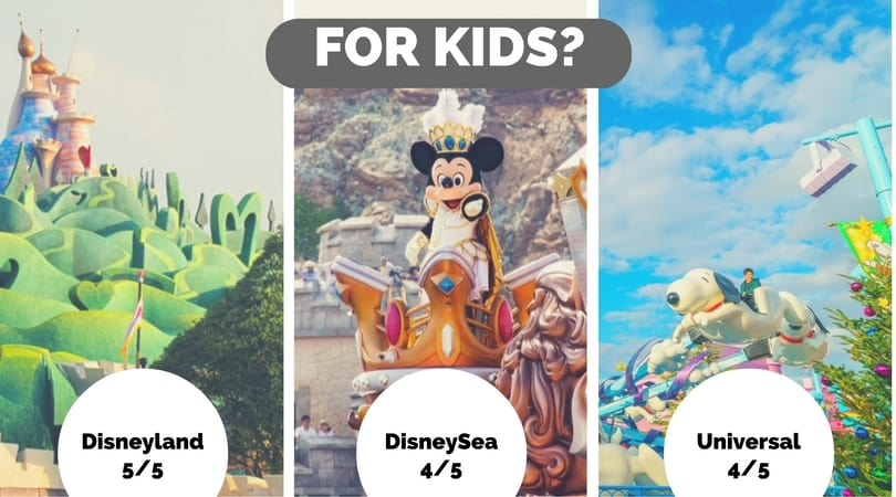 công viên giải trí ở nhật bản: thân thiện với trẻ em