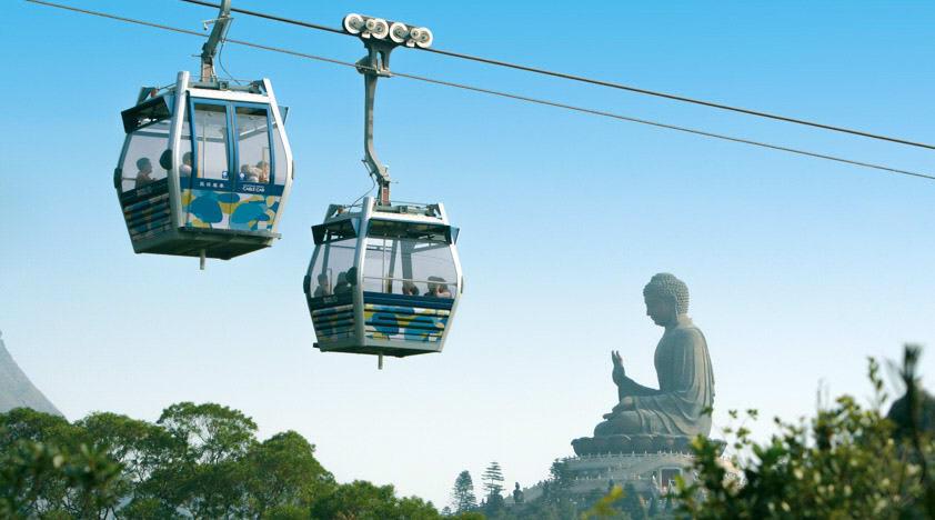 ngong ping 360 là một trong những những địa điểm tham quan ở hong kong