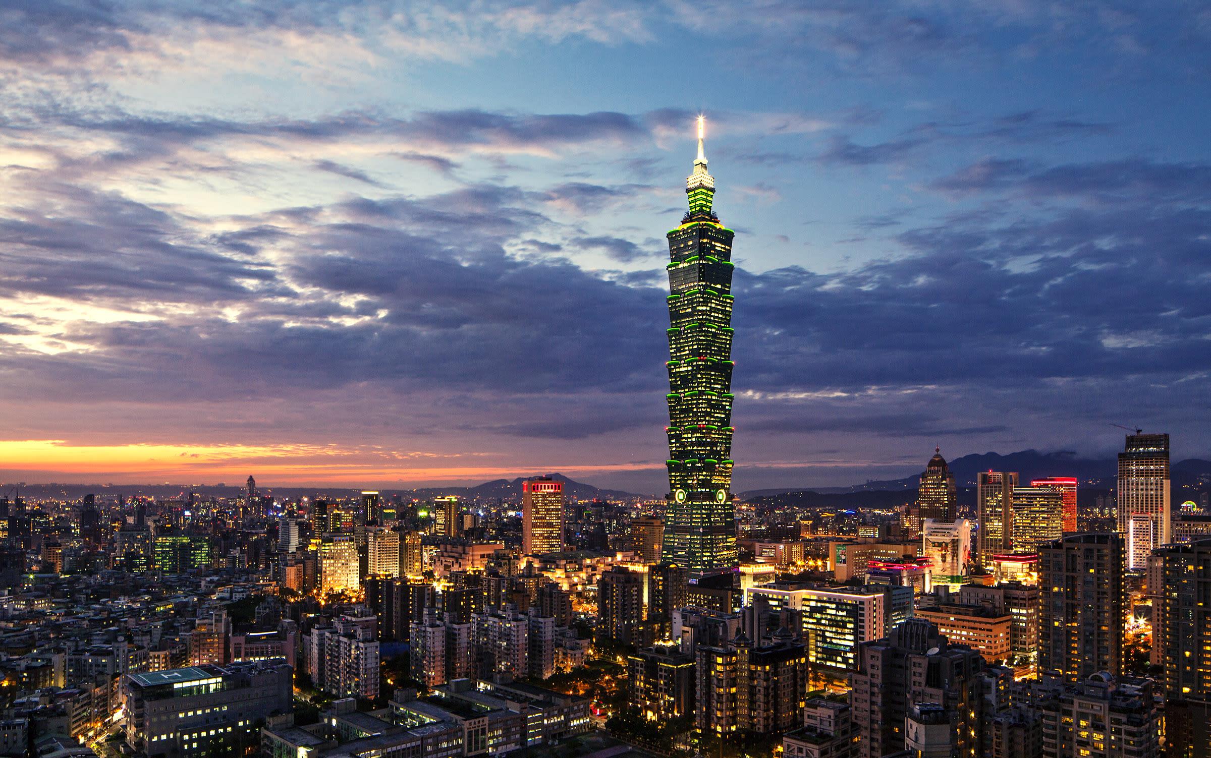 taipei 101 là một nơi để ngắm đài bắc về đêm
