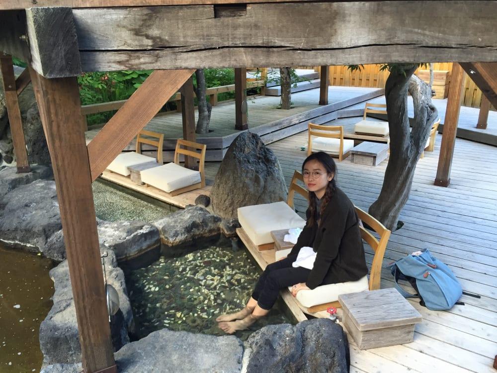 mùa thu ở hokkaido: jozankei onsen