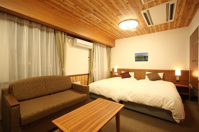 mùa thu ở hokkaido: dormy inn premium sapporo