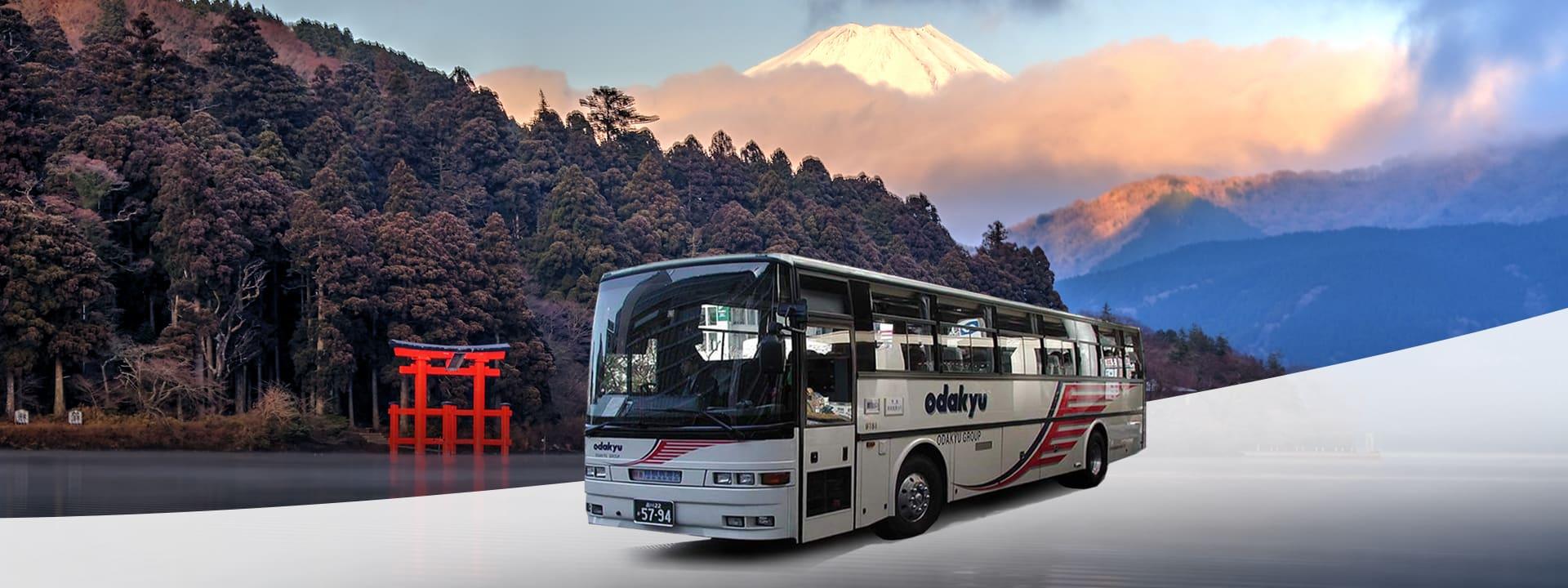 đi xe bus tại osaka với amazing pass