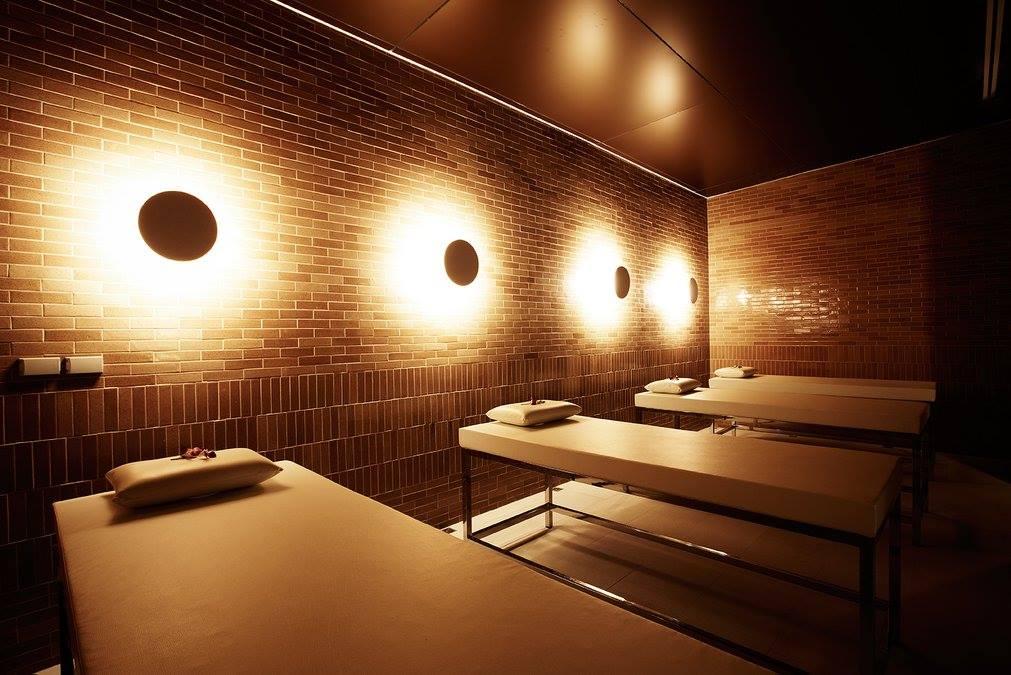 phòng massage tại yunomori onsen & spa