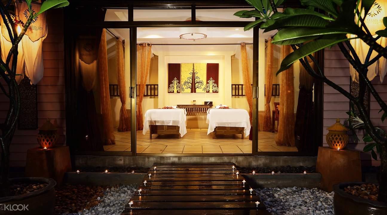 gian phòng tại oasis spa