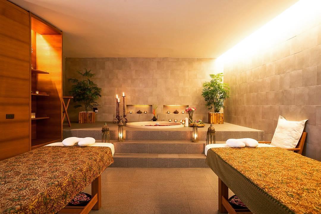 phòng massage tại luxsa spa