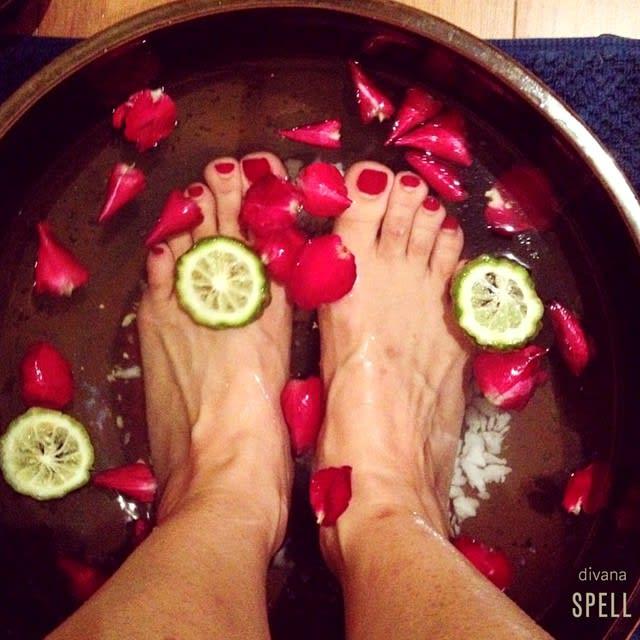 ngâm chân tại divana spa