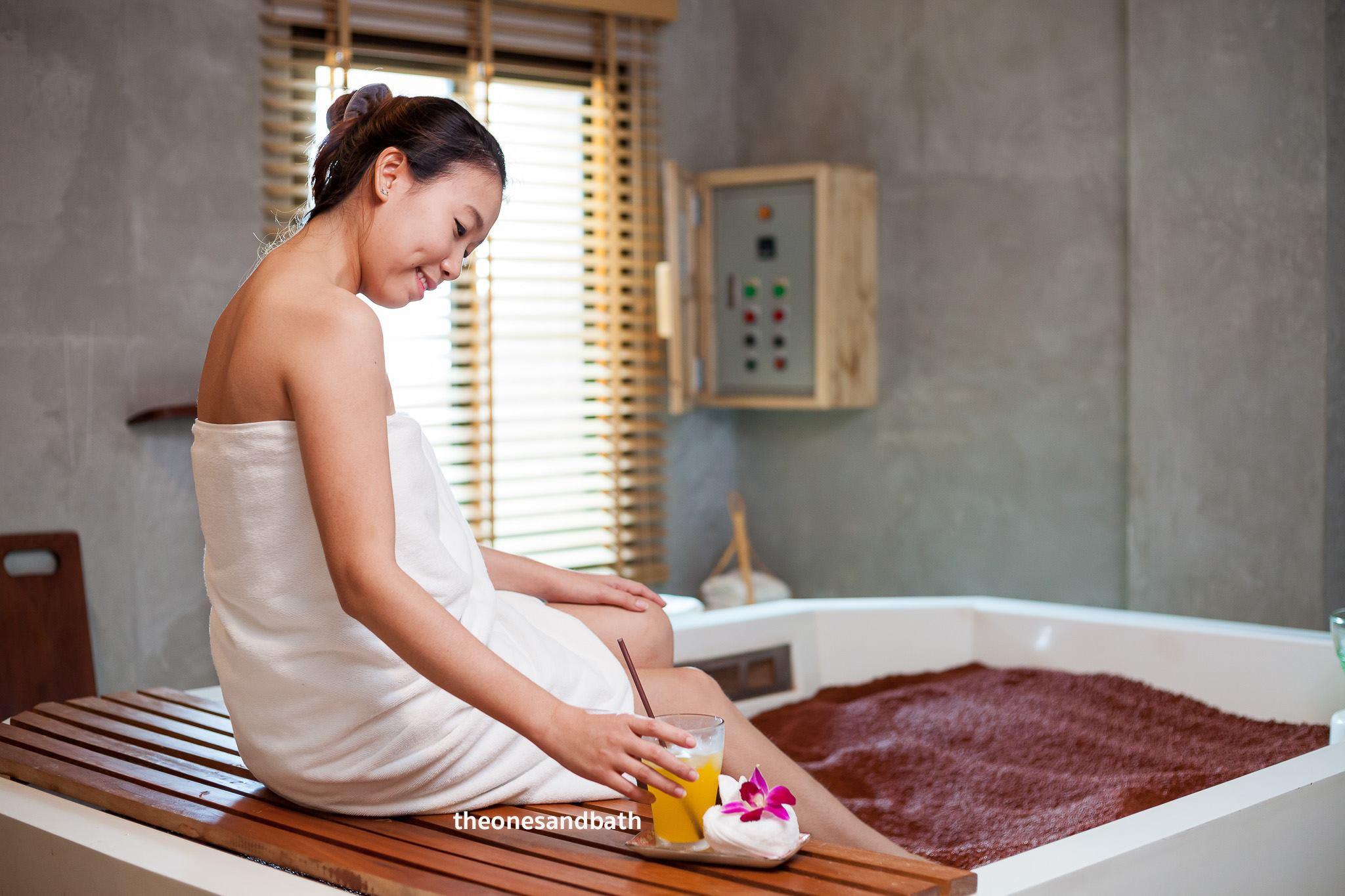 phòng massage tại one sand bath therapy