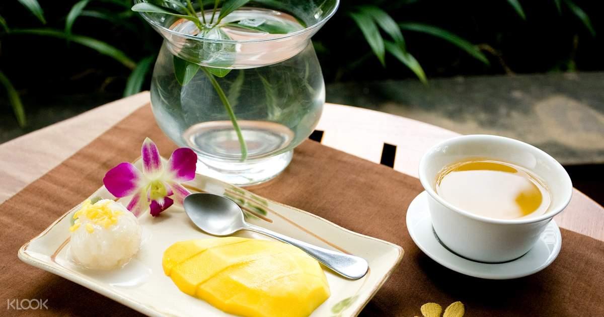 thức ăn tại let's relax spa