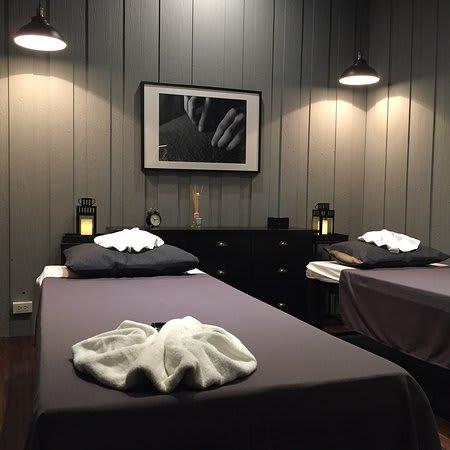 phòng massage tại health land spa