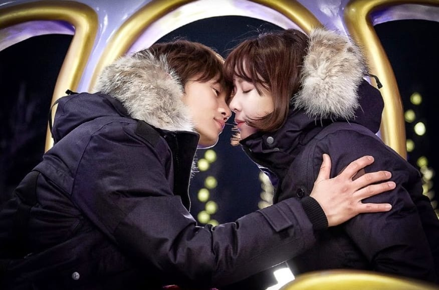 cảnh hôn nhau trong phim kill me heal me