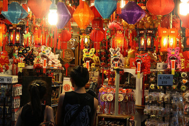china town singapore là một trong những địa điểm du lịch mùa trung thu