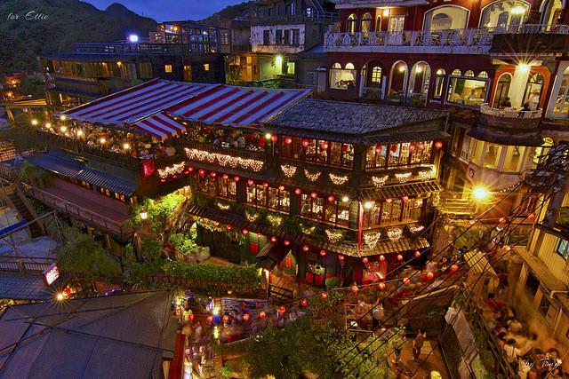 làng cửu phần là một trong những địa điểm du lịch mùa trung thu