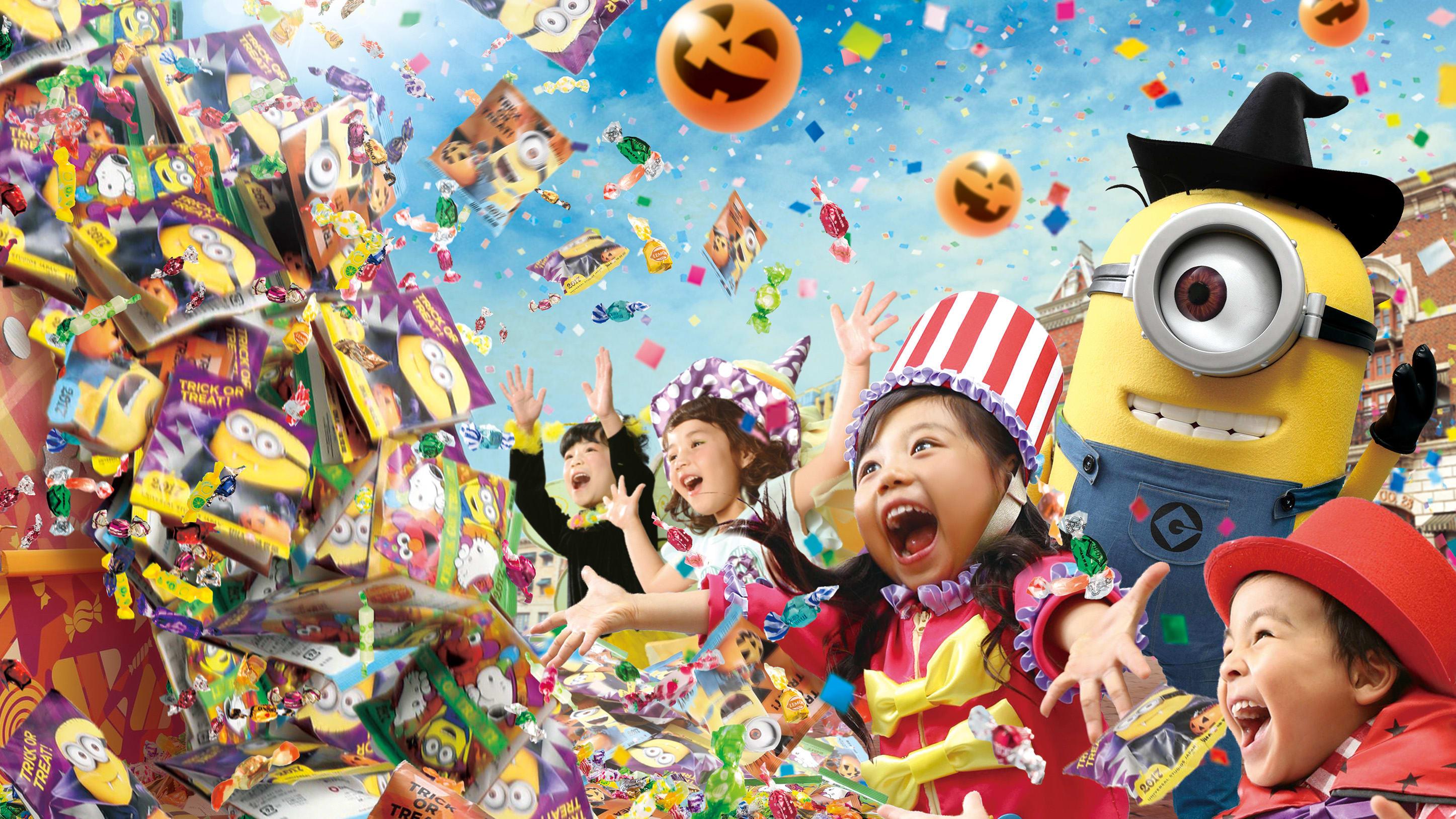 halloween tại universal studios nhật bản: halloween cho gia đình