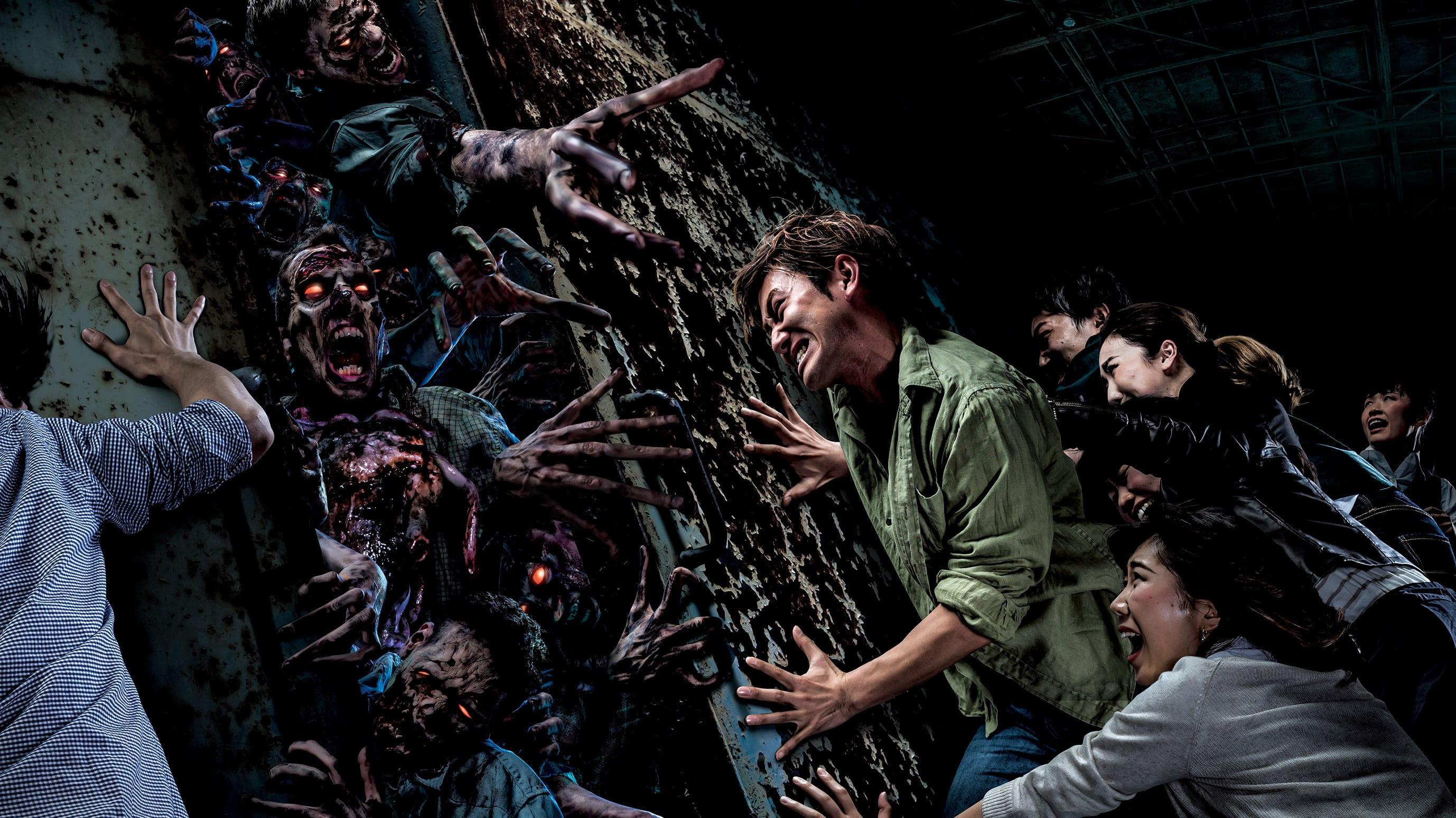 halloween tại universal studios nhật bản: deadman's forest