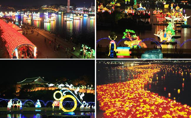 lễ hội đèn lông  là một trong 10 lễ hội ở hàn quốc bạn phải tham gia