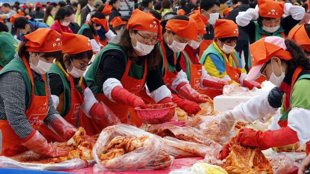 lễ hội kim chi gwangju  là một trong 10 lễ hội ở hàn quốc bạn phải tham gia