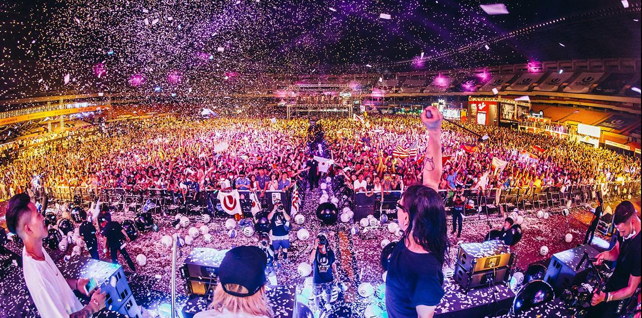 lễ hội edm ultra korea  là một trong 10 lễ hội ở hàn quốc bạn phải tham gia