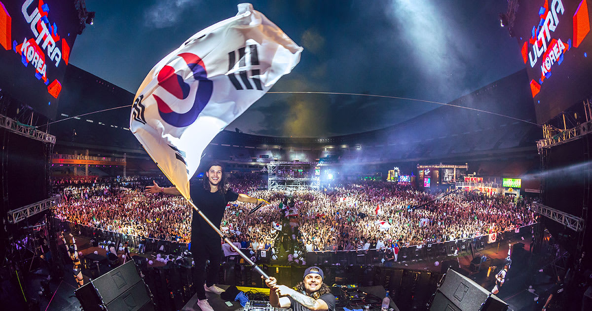 lễ hội âm nhạc edm ultra korea  là một trong 10 lễ hội ở hàn quốc bạn phải tham gia