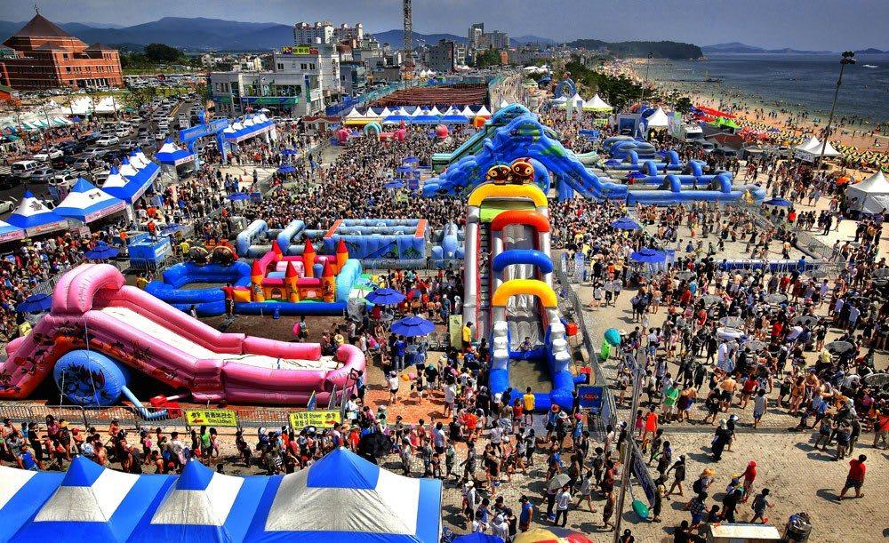 lễ hội bùn  là một trong 10 lễ hội ở hàn quốc bạn phải tham gia