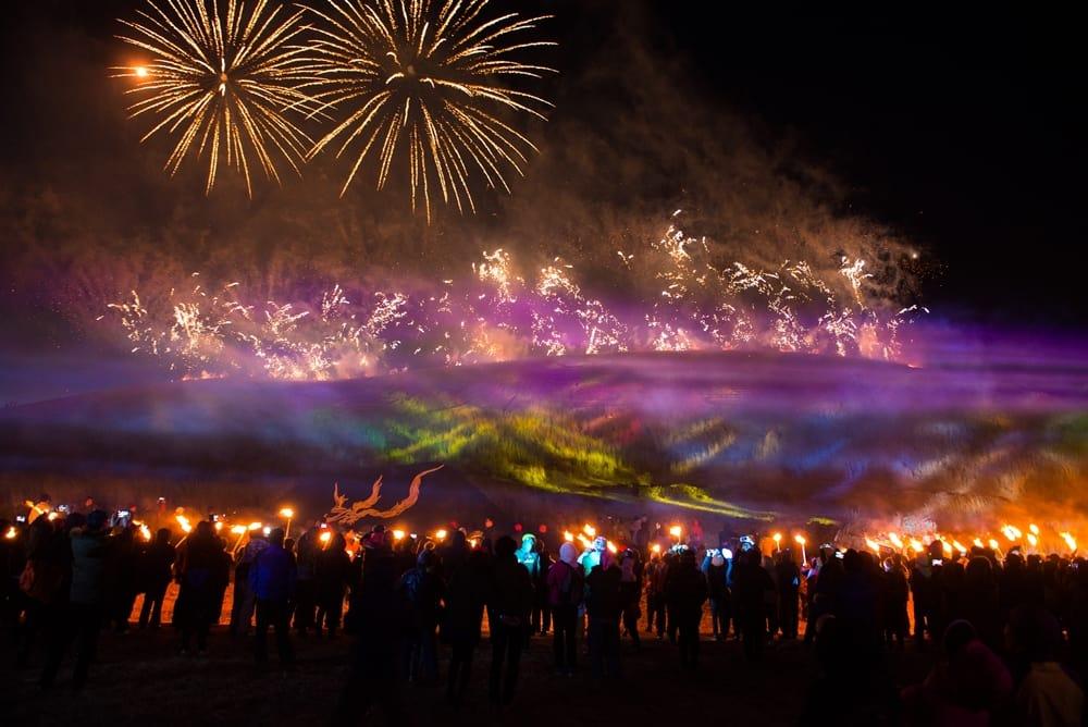 lễ hội lửa jeju  là một trong 10 lễ hội ở hàn quốc bạn phải tham gia