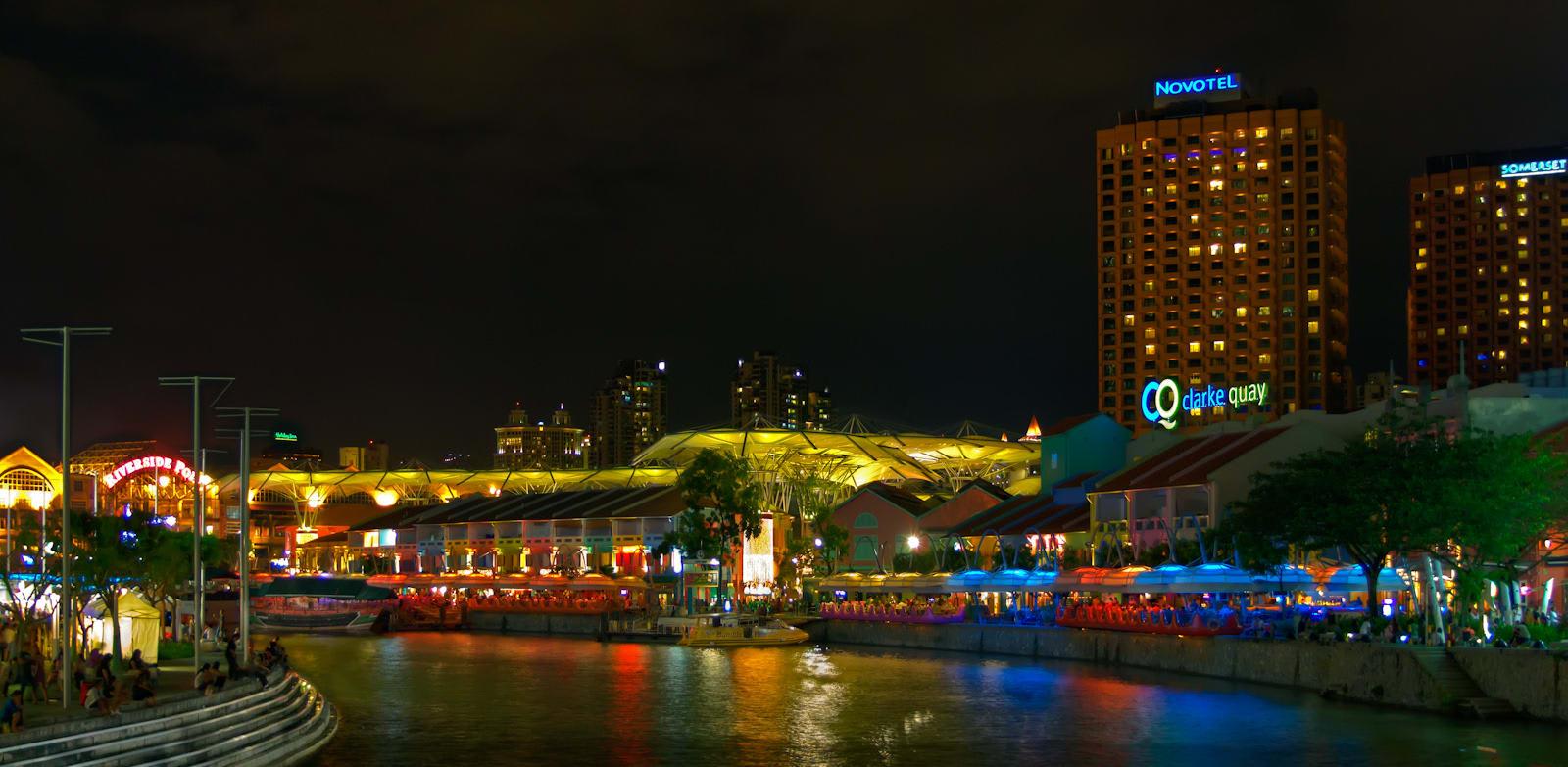 river quay là một trong những điểm đến ở singapore cho hội độc thân