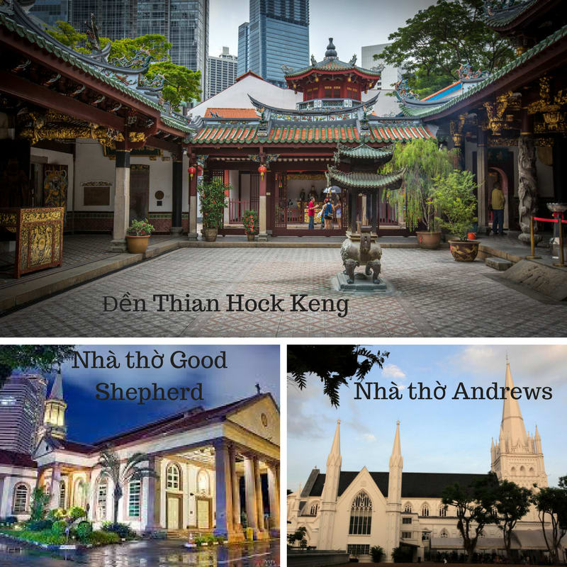 đền thian hock keng là một trong những điểm đến ở singapore cho hội độc thân