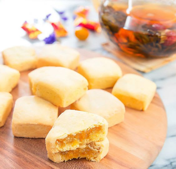 bánh dứa là đặc sản có thể mua làm quà khi đi đài loan
