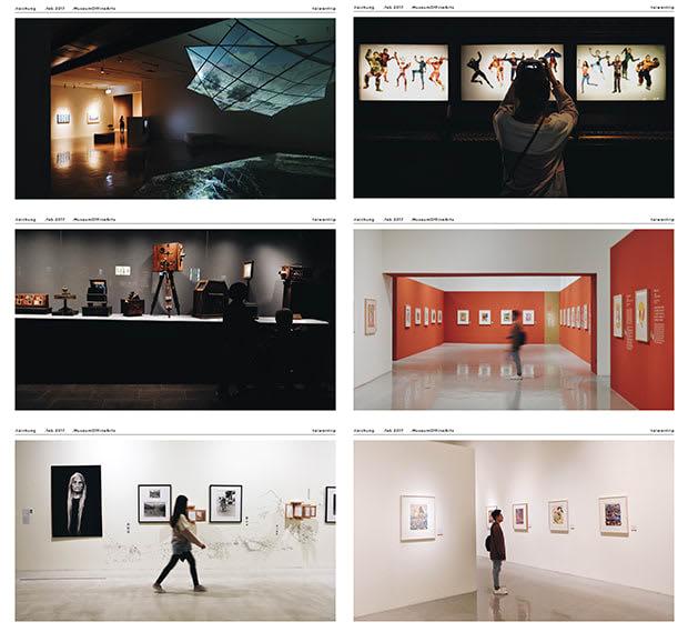 một số góc trong national museum of fine arts trong chuyến du lịch đài loan