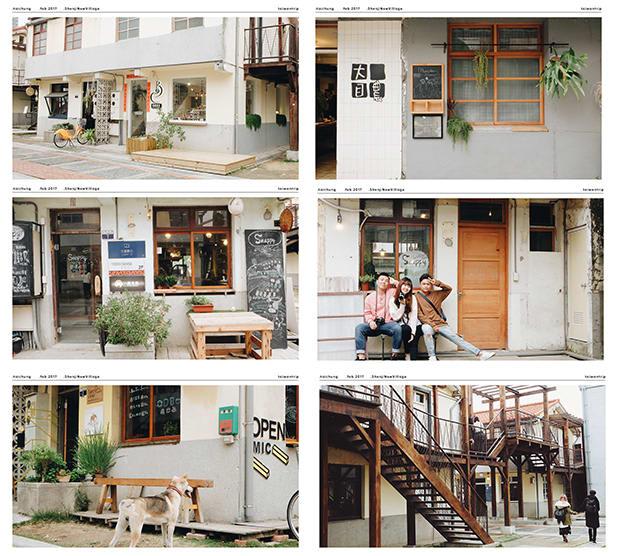 thăm shenji new village trong chuyến du lịch đài loan