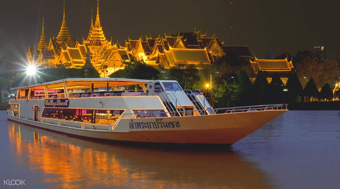 chao phraya princess cruise là một hoạt động ở bangkok đáng thử