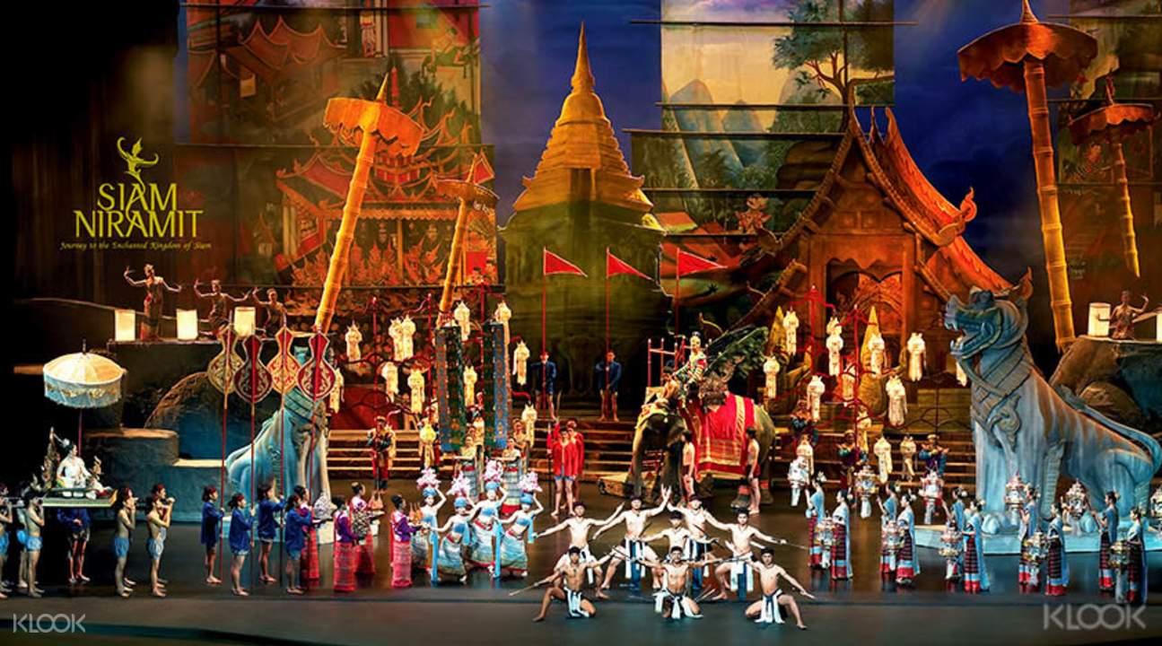 thưởng thức show niramit trong chuỗi các hoạt động ở bangkok