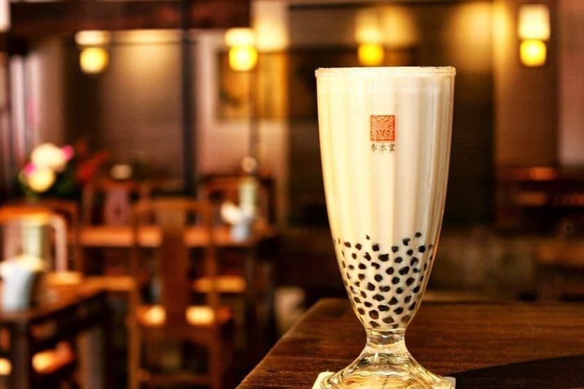 trà sữa trân châu là một trong 10 món ăn ngon ở đài loan