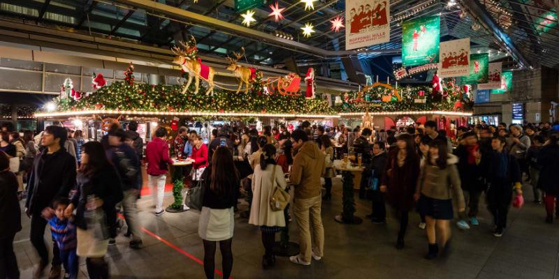 chợ giáng sinh tại tokyo: proppongi hills