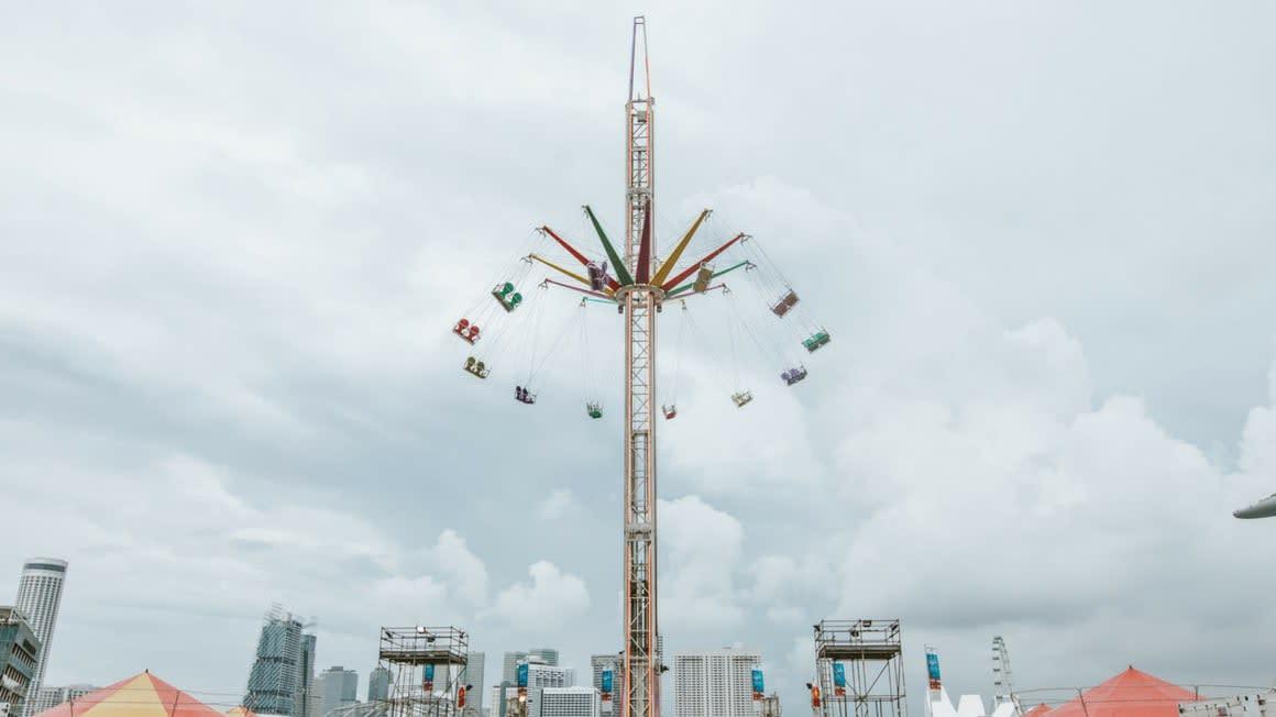 lễ hội hoành tráng nhất singapore: marina bay carnival