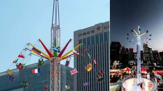 lễ hội hoành tráng nhất singapore: star flyer