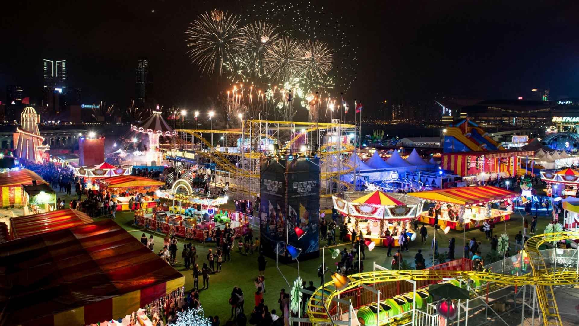 lễ hội hoành tráng nhất singapore: giờ mở cửa prudential marina bay carnival