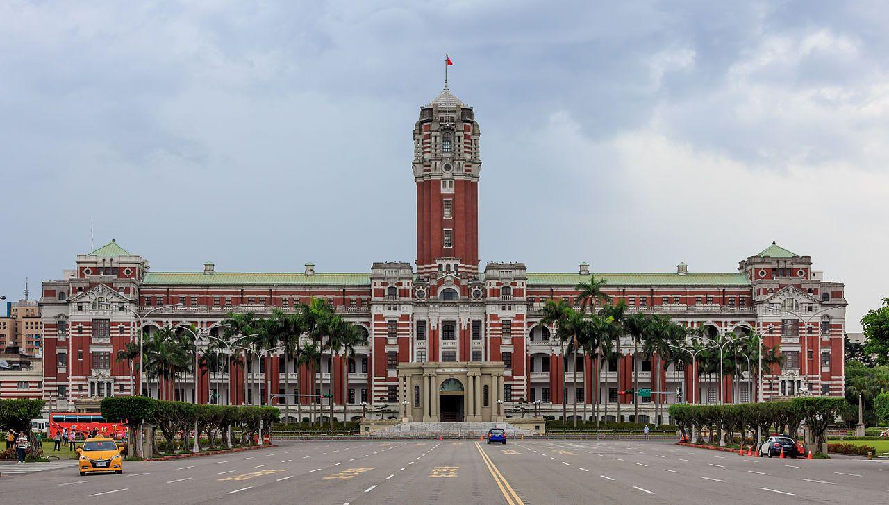 ghé tòa nhà tổng thống trong chuyến khám phá trọn đài loan