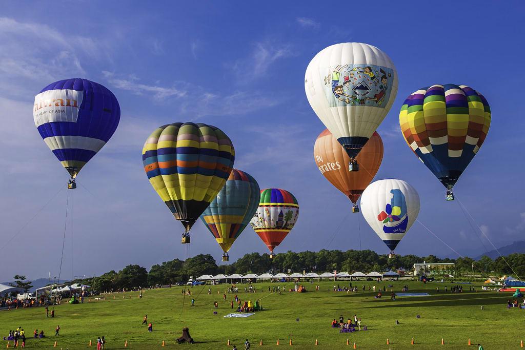 du lịch tự túc đài loan với lễ hội khinh khí cầu