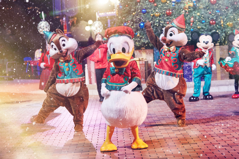giáng sinh tại hong kong disneyland: nhạc hội christmastime