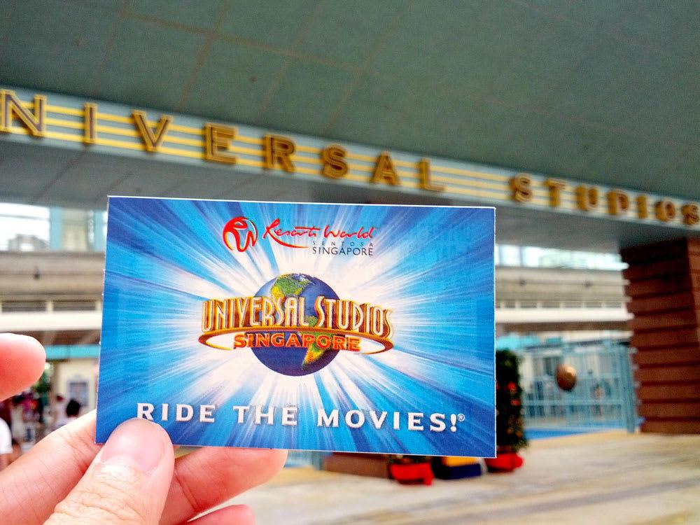 đặt vé trước là một kinh nghiệm vui chơi ở universal studios singapore