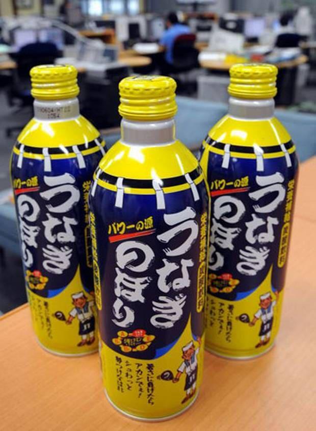 soda lươn là một trong những món ăn kết hợp hương vị kỳ cục nhất ở Nhật Bản
